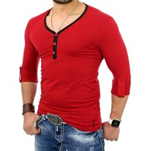 Reslad Herren Langarm Shirt Manhatten RS-5054