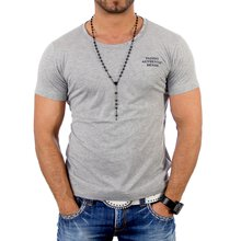 Reslad Herren Wide Neck T-Shirt 4000