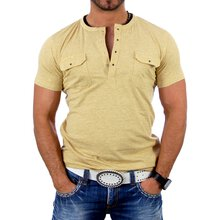 Reslad Herren Striped T-Shirt 4004