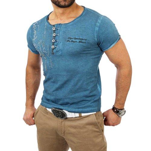 62dfa73437c48e ... Reslad Herren Batik Style Washed T-Shirt 4050 ...