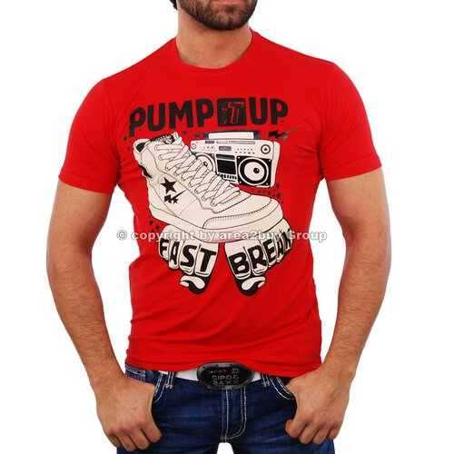 Radio Active RA-005 Pump it up T-Shirt rot