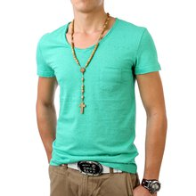 Stich & Soul Herren V-Neck T-Shirt SS-200652