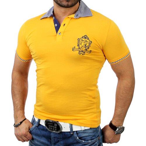 Cipo /& Baxx C-5327 Herren Squared Emblem Poloshirt Polo Männer Hemd T-Shirt Neu
