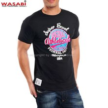 Wasabi athleticals Jonk Men Party Club Style T-shirt schwarz