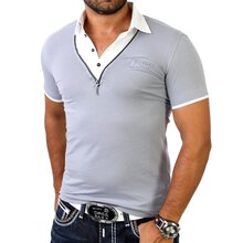 Redbridge Herren 2in1 Layer Style Poloshirt R-1543