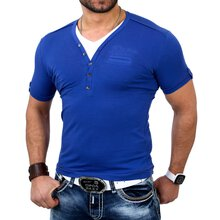 Redbridge Herren V-Neck 2in1 Layer Style T-Shirt RB-1554