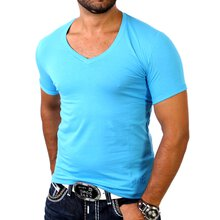 Redbridge Herren V-Neck Basic T-Shirt RB-1494