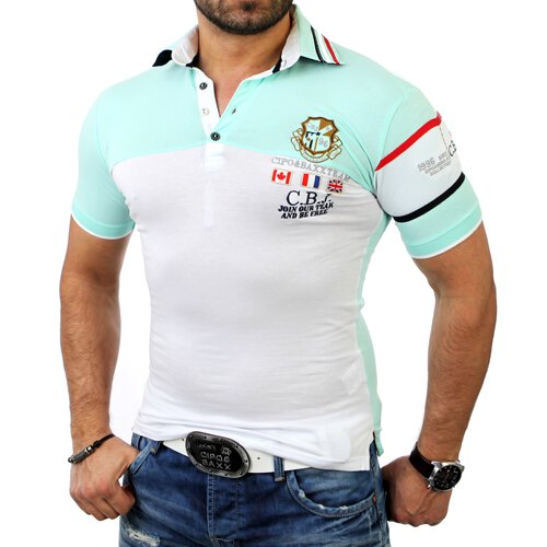 Cipo & Baxx Herren Party Club Style Poloshirt C-5321