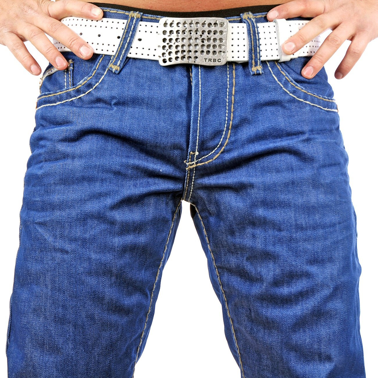 herren jeans blau redbridge dicke naht 144 jeans kaufen. Black Bedroom Furniture Sets. Home Design Ideas