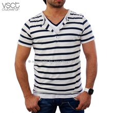 Vsct V-5640356 tripple Layer ringled tee Club T-Shirt...