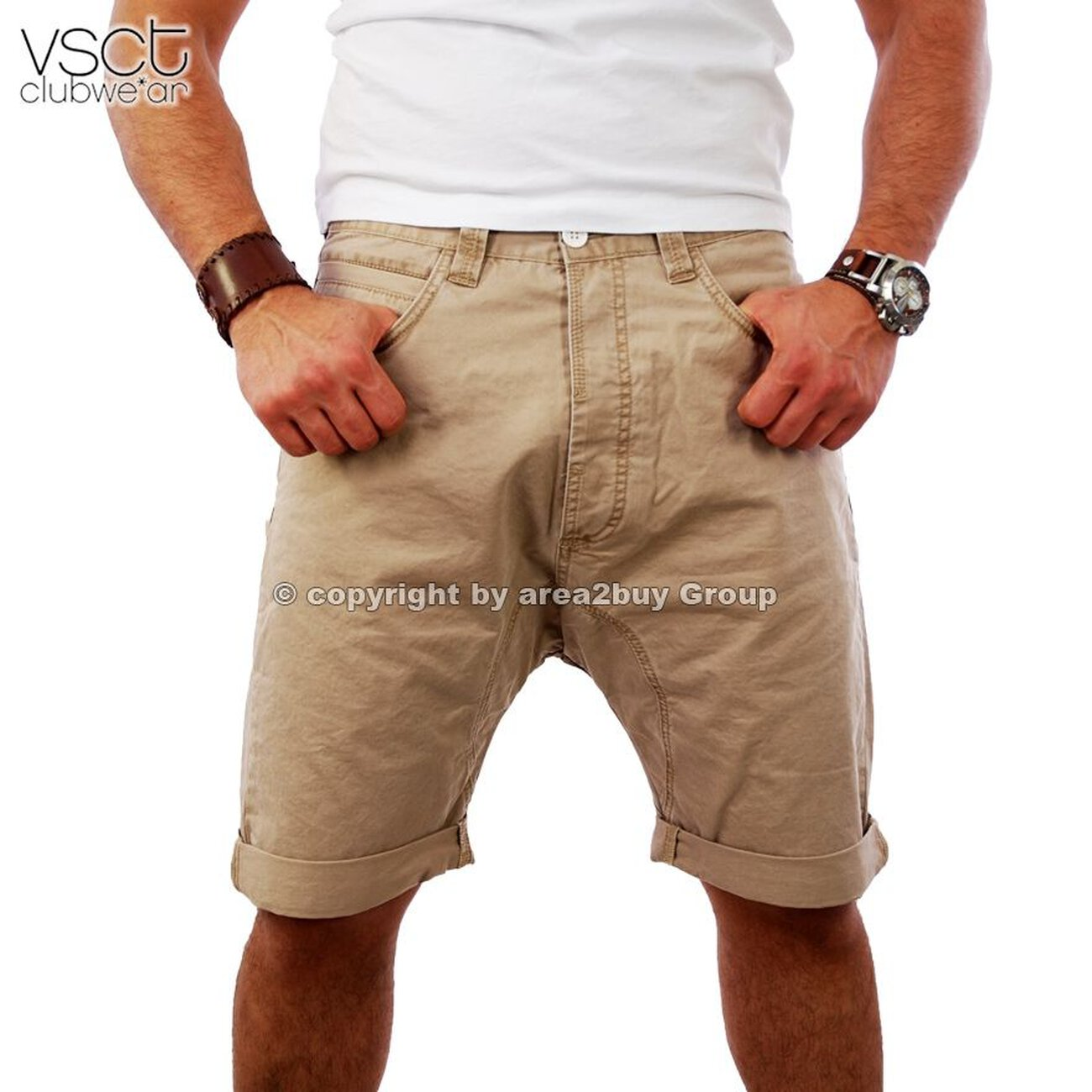 shorts herren beige carpi chino herren von vsct g nstig. Black Bedroom Furniture Sets. Home Design Ideas