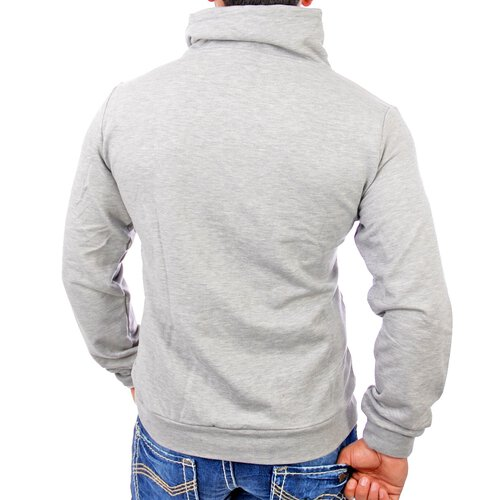 redbridge R-1640 Japan Pullover Hoody grau
