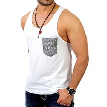 VSCT Herren Bandana Pocket Tank Top V-5641035
