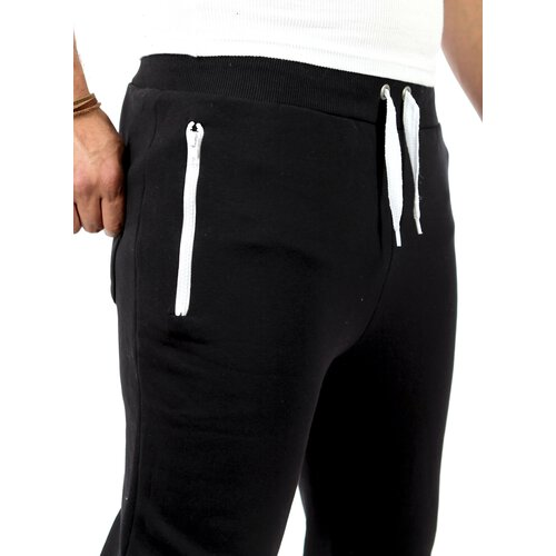 Reslad Herren Zip Bag Atlethic Sweatpant Jogginghose RS-5180