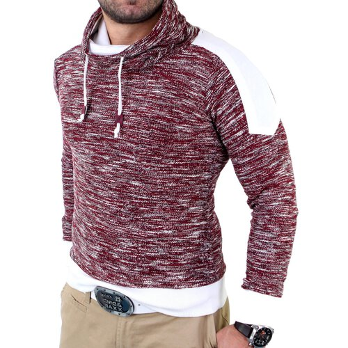 Reslad Herren Huge Collar Sweatshirt Pullover RS-105
