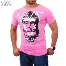 Vsct V-5640746 Party Club Individual T-shirt pink