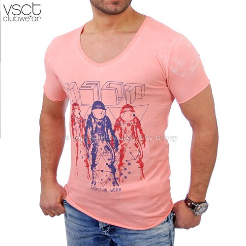 Vsct V-5640741 Magic Tee T-Shirt orange