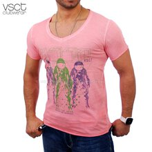 Vsct V-5640741 Magic Tee T-Shirt pink-rot