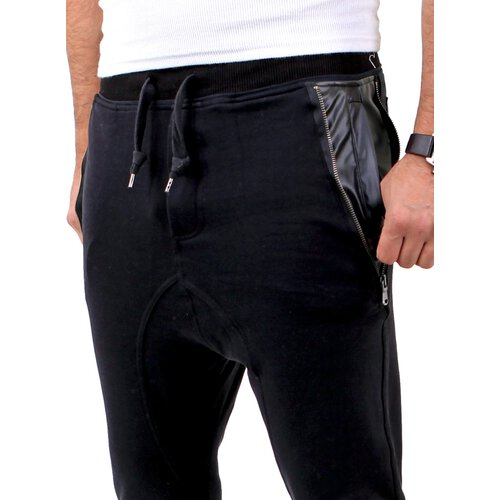 VSCT Herren New Age Sweatpants Leder Pocket Jogginghose V-5641148
