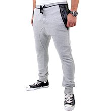 VSCT Herren New Age Sweatpants Leder Pocket Jogginghose...