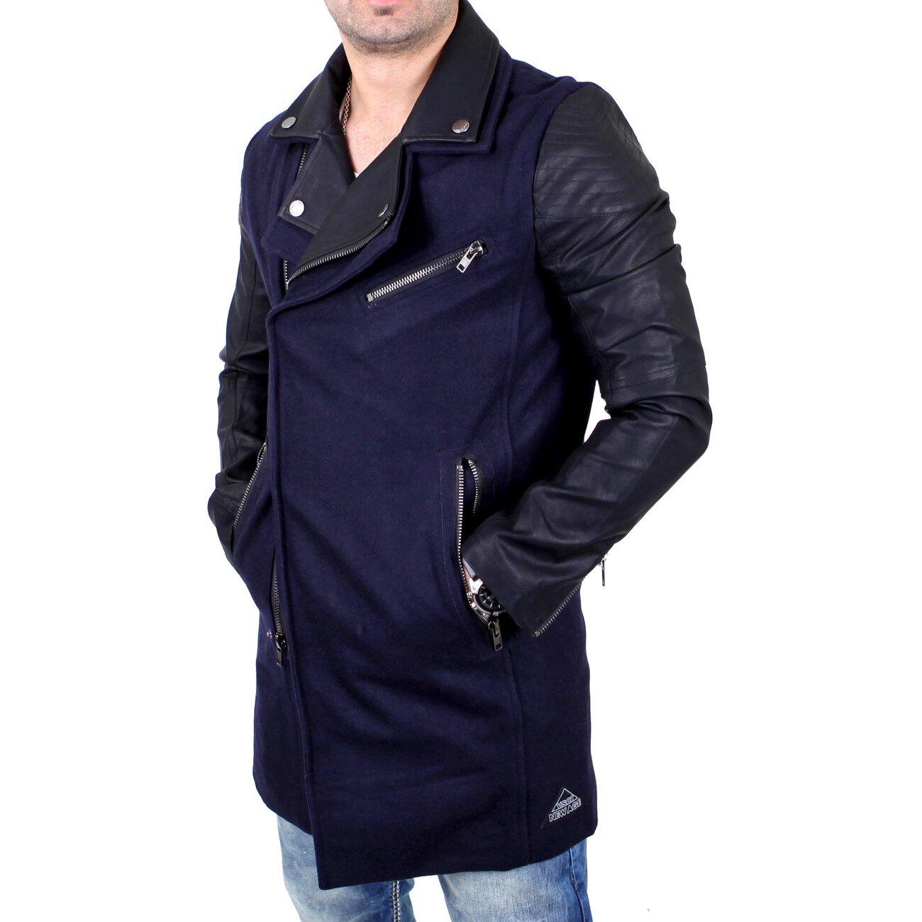 VSCT Jacke Herren Customized Biker Woalcoat Mantel V-5800344 Navy XL.  178,98 €  . sofort verfügbar. zum Artikel · Urban Classics Mantel Herren  Gabardine ... 62e0546154