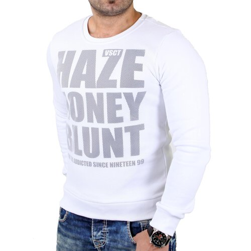 VSCT Sweatshirt Herren Haze Honey Blunt Sweater Mesh V-5641175