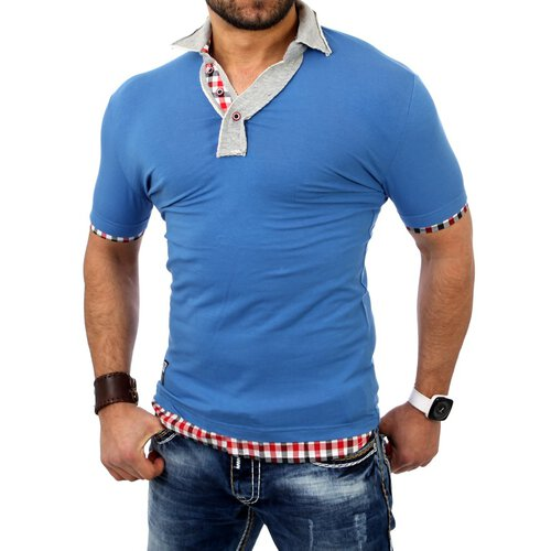 Carisma CRSM-4037 Party club 2in1 T-shirt blau