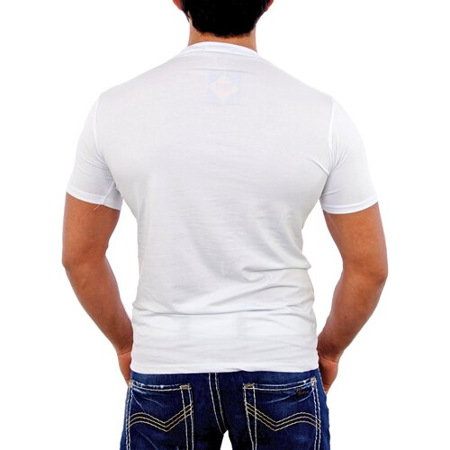 Radio Active T-Shirt Herren DENIM Print RA-007