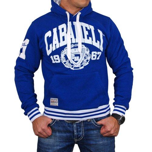 area2buy DE Cabaneli Sweatshirt Herren LOGO Print Kapuzen Hoody CA-1967 Blau XS