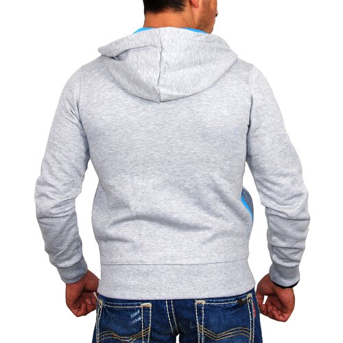 Redbridge Sweatjacke Herren HEADPHONE Print Kapuzen Zipper RB-1514