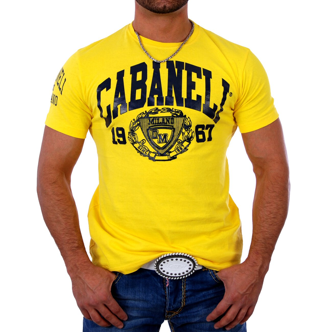 T shirt herren logo print cabaneli ca 05 shirts g nstig for T shirt printing local area