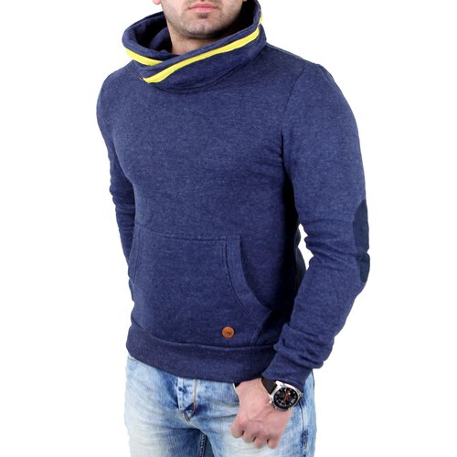 finest selection bcb7d 6ddb2 Reslad Sweatshirt Herren Zipper Kragen Pullover RS-03