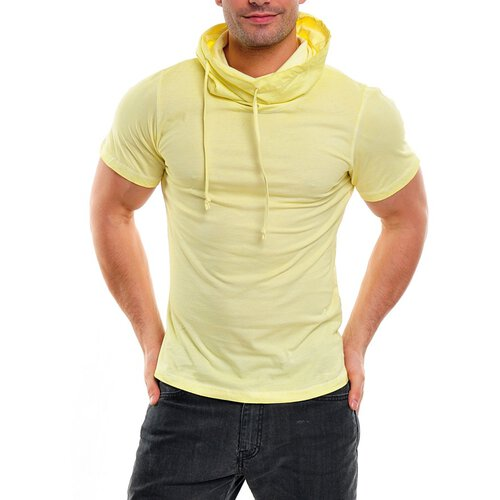 Wasabi wsb-1349K Huge Collar T-Shirt, Gelb
