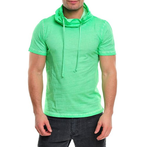 Wasabi wsb-1349K Huge Collar T-Shirt, Grün