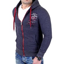 Tazzio Sweatjacke Herren Authentic Style TZ-203