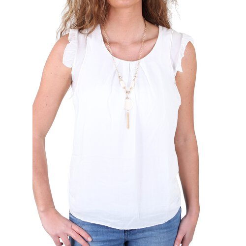 3b3056f0c0db46 ... Madonna Damen Bluse ILONA Scoop Neck Long Shirt MF-740817 ...