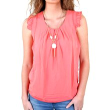 Madonna Damen Bluse ILONA Scoop Neck Long Shirt MF-740817