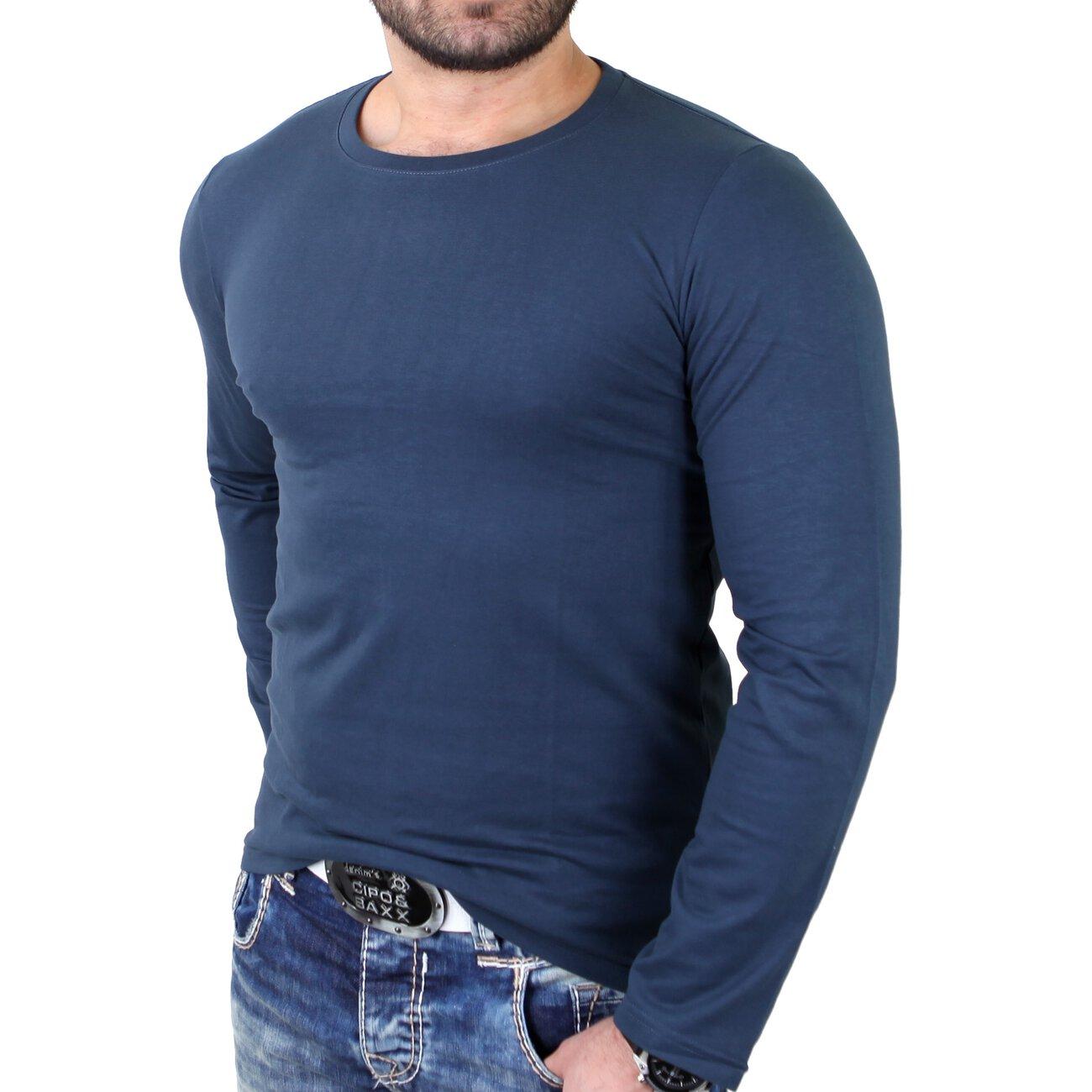 Reslad Herren Langarm-Shirt Longsleeve RS-5054