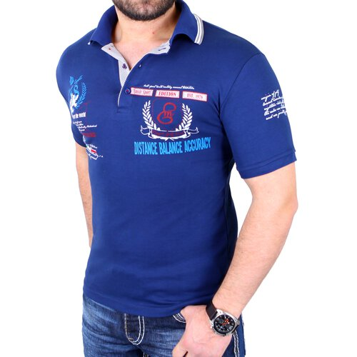 Reslad Poloshirt Herren Club Polo T-Shirt Authentic Look RS-1308