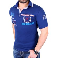 Reslad Poloshirt Herren Club Polo T-Shirt Authentic Look RS-1308 Dunkelblau  S 3e41aea3d8