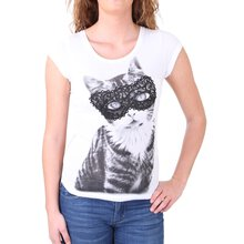 Madonna T-Shirt Damen FIEN Sweet Kitty Rückenteil aus...