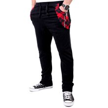 Reslad Jogginghose Herren Sweatpant Pattern Pocket Design...