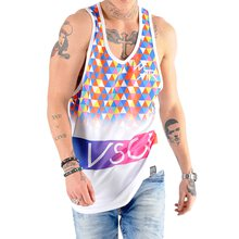 VSCT Tank-Top Herren TRIANGLEMANIA Logo Mesh Shirt V-5641427