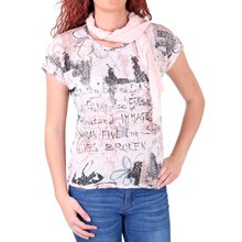 Madonna T-Shirt Damen JOSEPHINE Allover Flower Print...