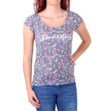 Madonna T-Shirt Damen FLOWI Beautiful Flower Print Shirt...