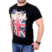 Lonsdale T-Shirt Herren JACOB Stretch Fit Shirt LD-111146...