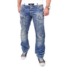 Cipo & Baxx Herren Jeans Exklusiv Look Regular Fit...