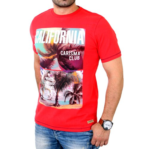 Carisma T-Shirt Herren Regular Fit CALIFORNIA mit Motivdruck CRSM-4208