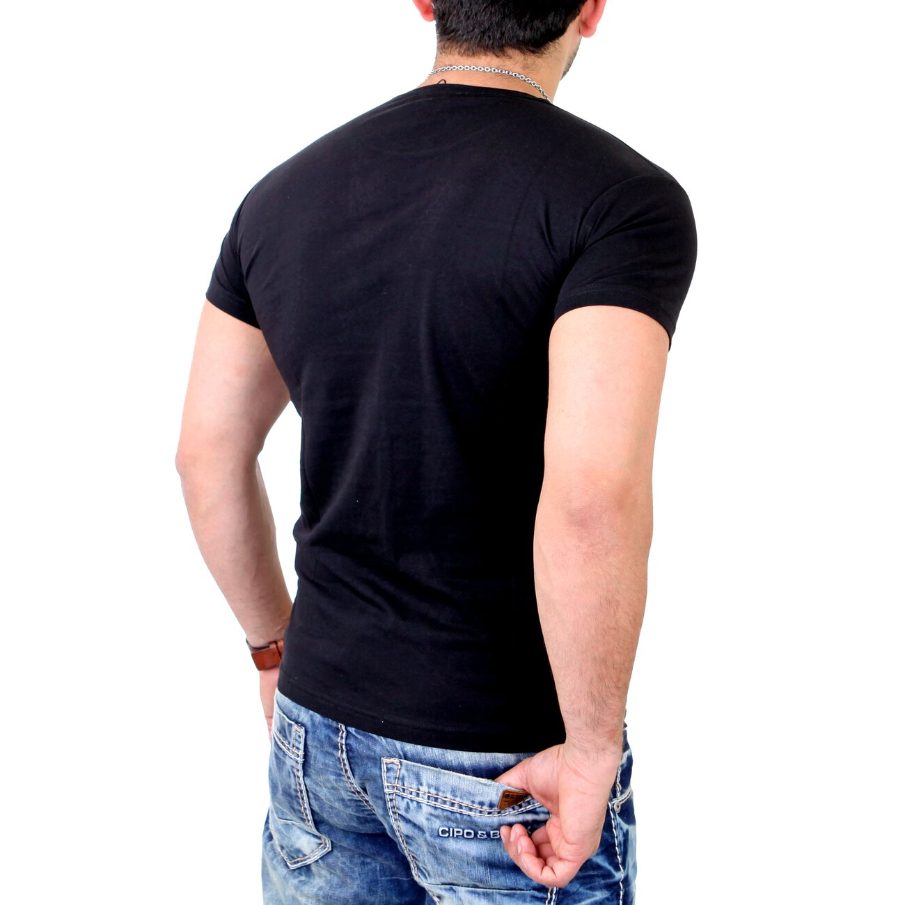 young rich t shirt herren mit pocket young and rich. Black Bedroom Furniture Sets. Home Design Ideas