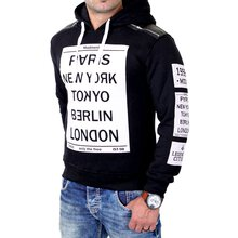 Madmext Sweatshirt Herren Legend of Cities Kapuzen...